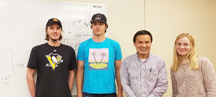 AJ Kawczynski and Math Group