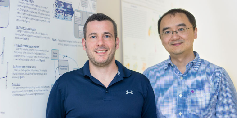 Dan Russo and Dr. Hao Zhu