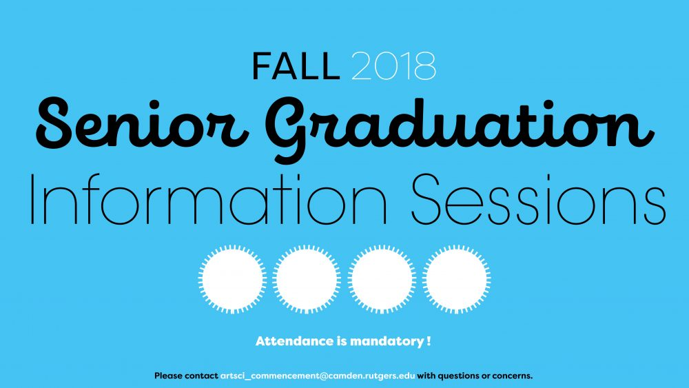 Senior Information Sessions