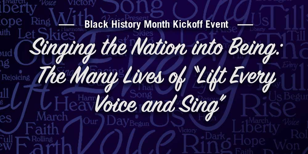 Black History Month Kickoff