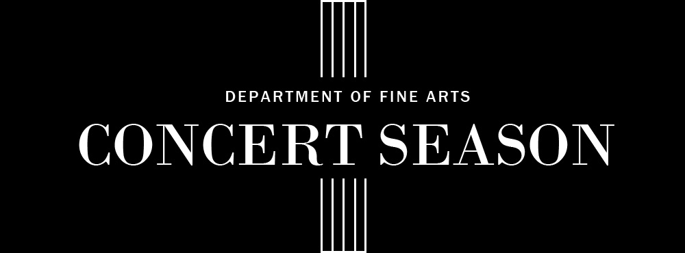 Join us on Dec. 12 and Dec. 15 for Concerts from the Department of Fine Arts