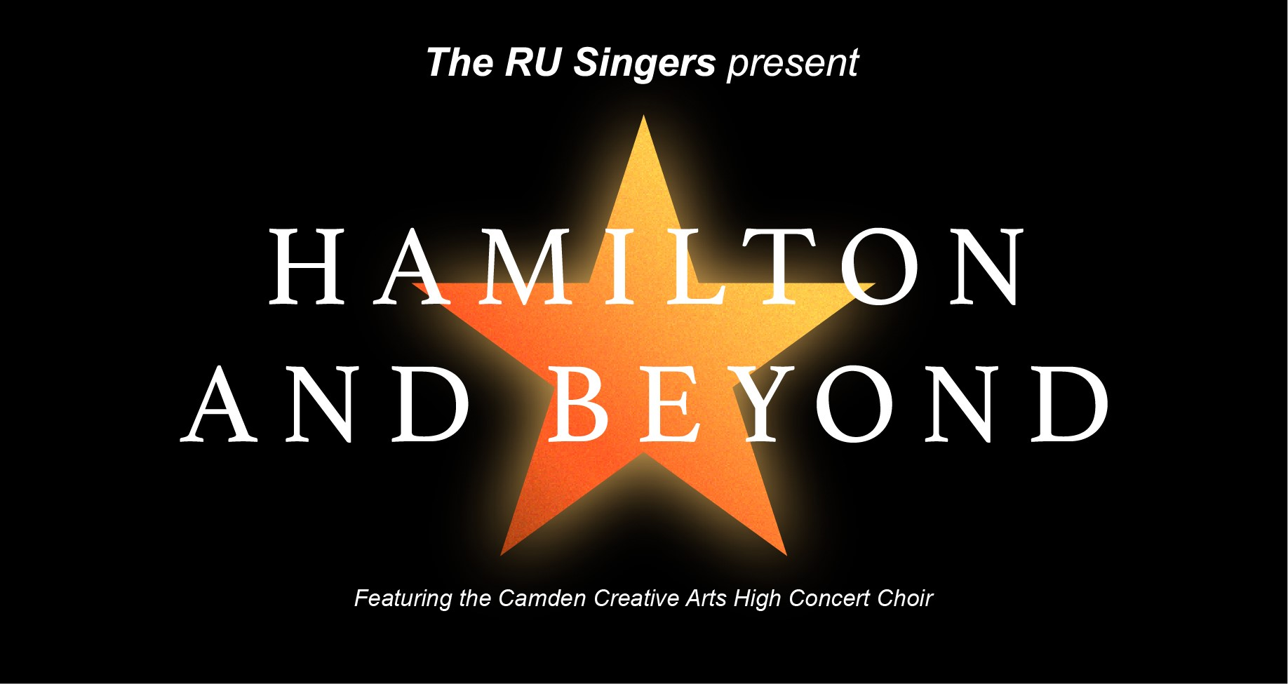 """Join the RU Singers on Apr. 30 for """"Hamilton and Beyond"""""""
