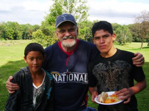 Paul More, Jonathan, and Josue
