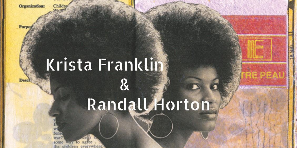 Krista Franklin and Randall Horton