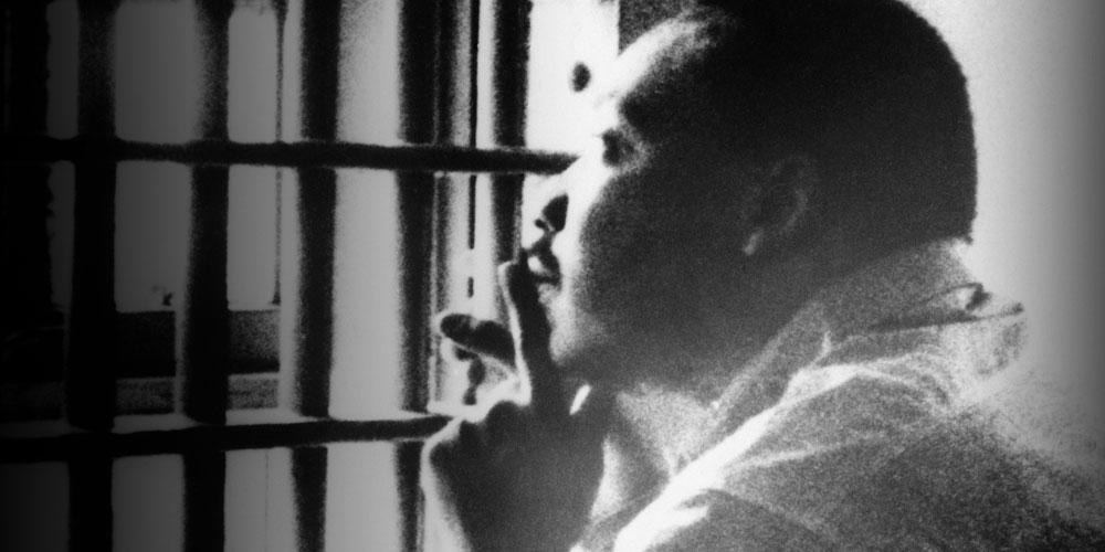MLK in Birmingham jail cell
