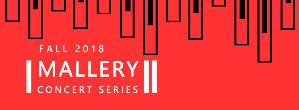 Mallery Concert Series fall 2018