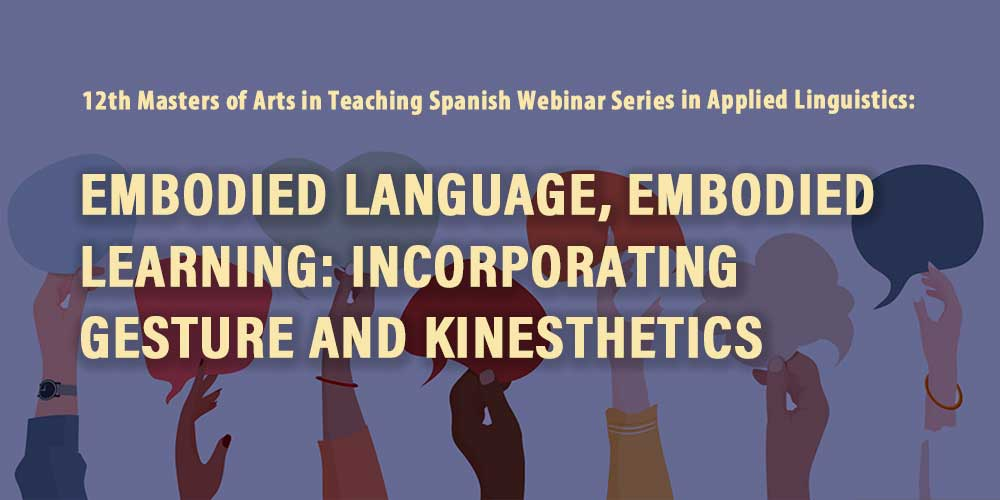 """Embodied Language, Embodied Learning"""