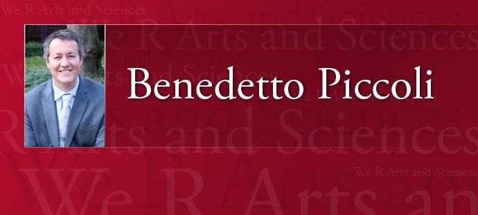 Benedetto Piccoli Web Header