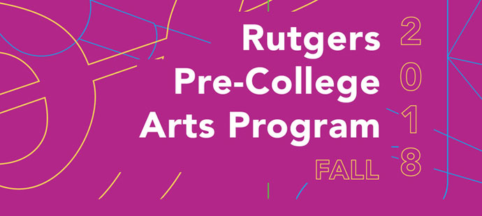 Registration Open for Fall Pre-College Arts Program