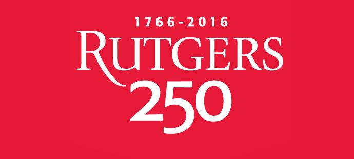 Rutgers 250 logo image