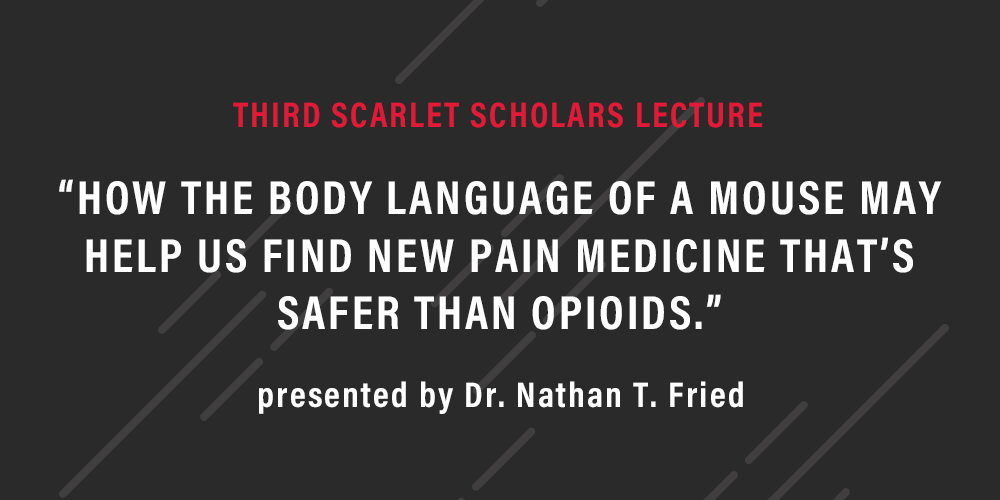 Scarlet Scholars Series Lecture