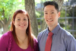 Catherine Rosenberg and Eric Chang
