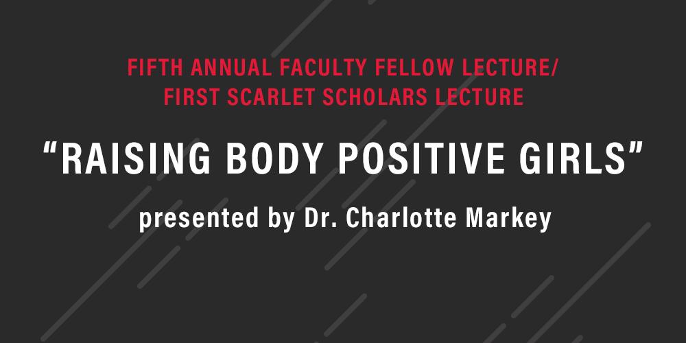 Annual Faculty Fellow Lecture