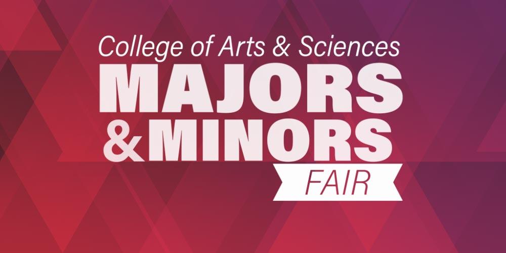 CCAS Majors and Minors Fair