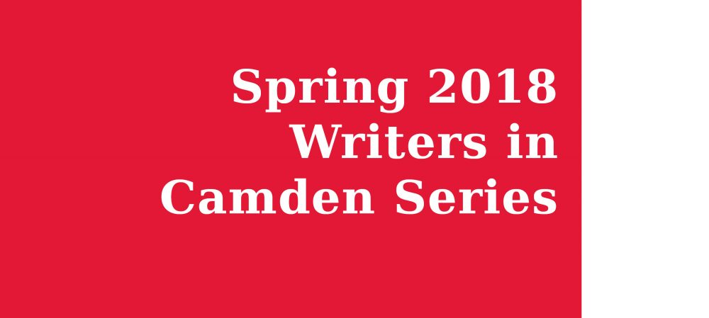 Writers in Camden Series