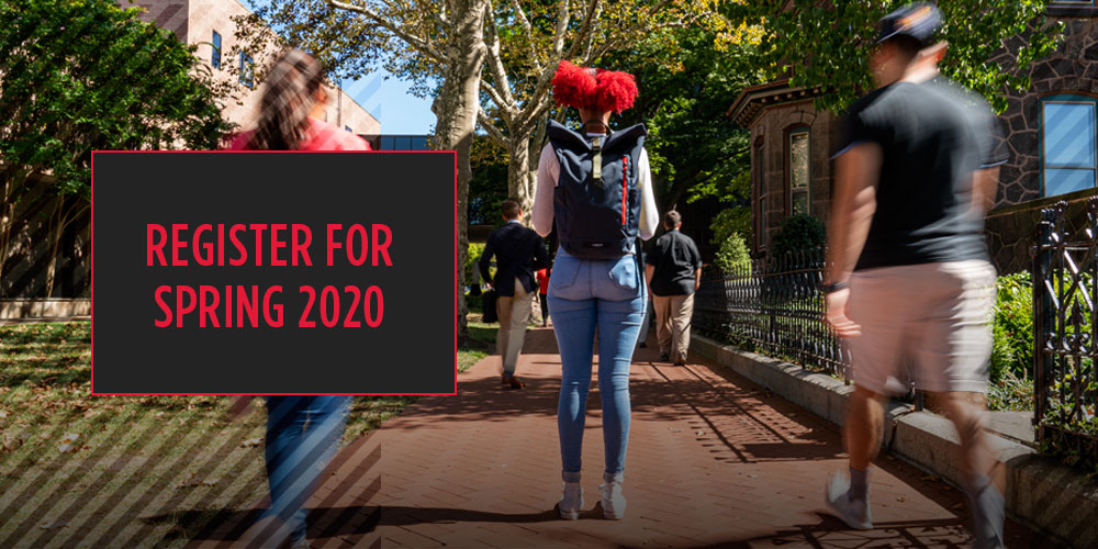 Registration for Spring 2020