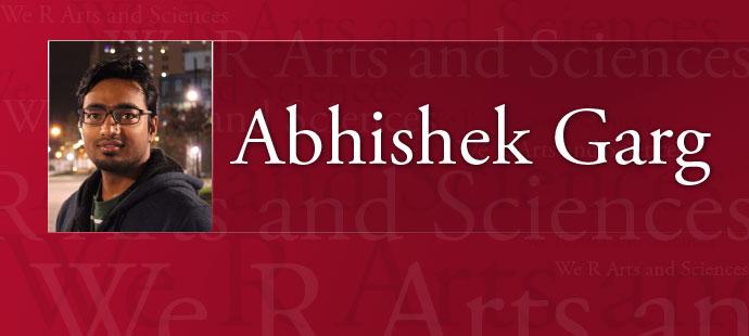 Abhishek Garg Web Header