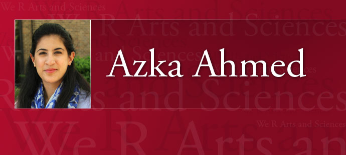 Azka Ahmed Web Header