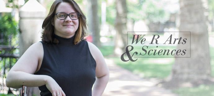 We R Arts and Sciences: Chelsea Coccia