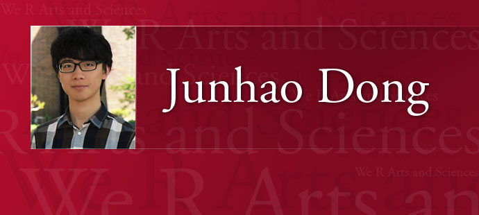 We R Arts and Sciences: Junhao Dong