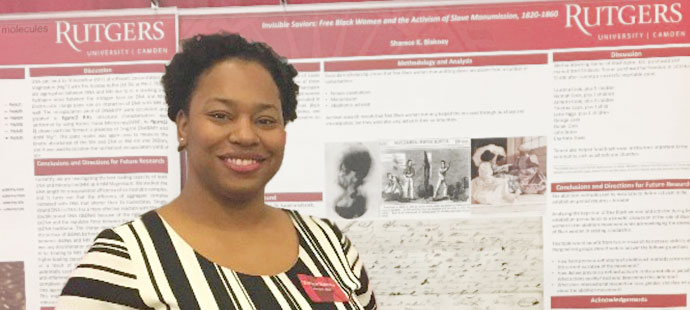 History Graduate Student Sharece Blakney Finds Her Passion through Research