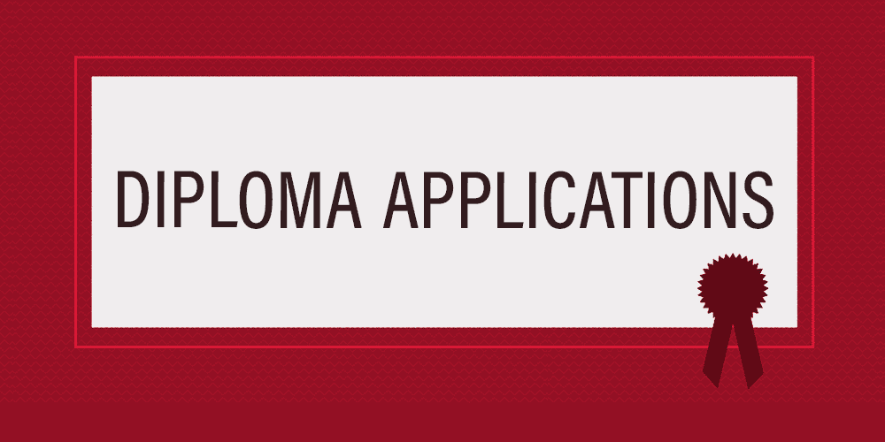 Diploma Applications